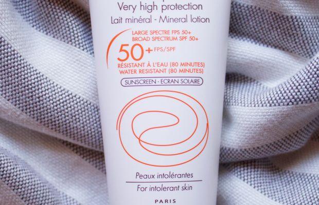 Avene Mineral Lotion SPF 50 Plus For Intolerant Skin