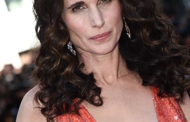 Andie MacDowell, Inside Out premiere, Cannes 2015