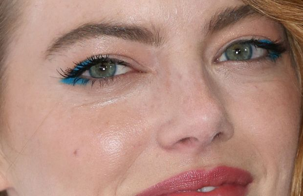 Close-up of Emma Stone at the 2015 premiere of 'Irrational Man'.