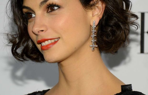 Morena Baccarin medium wavy hair