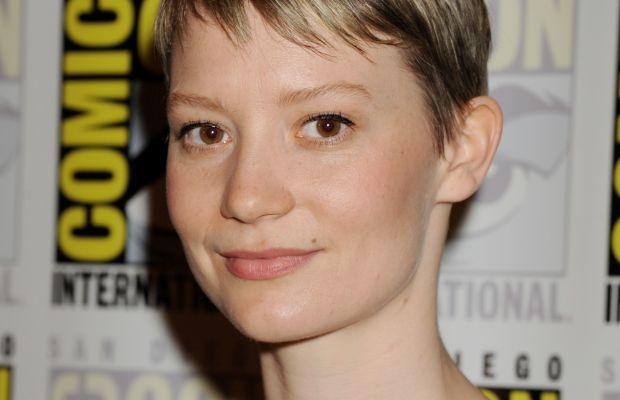 Mia Wasikowska, Crimson Peak Comic-Con press line, 2015