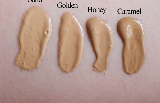 Too Faced Born This Way swatches 9-12