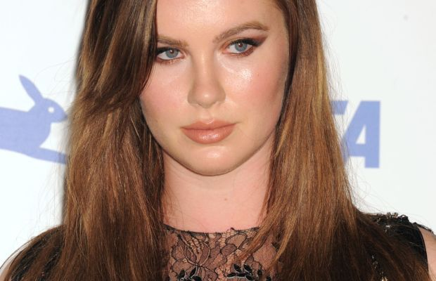 Ireland Baldwin, PETA 35th anniversary party, 2015