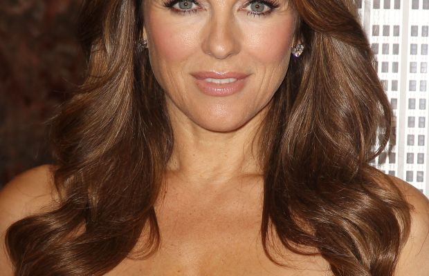 Elizabeth Hurley, Breast Cancer Awareness Event, 2015