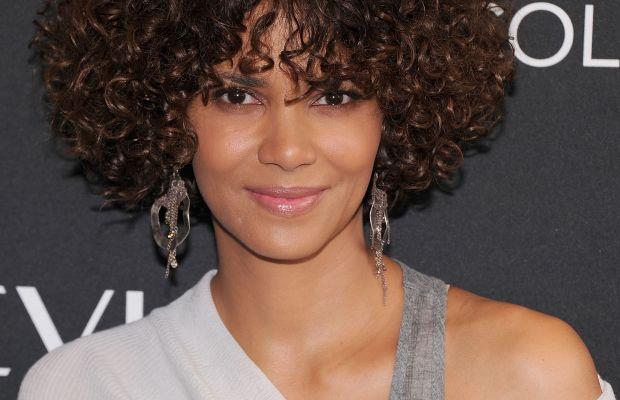 Halle Berry medium curly hair