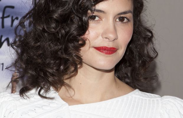Audrey Tautou medium curly hair
