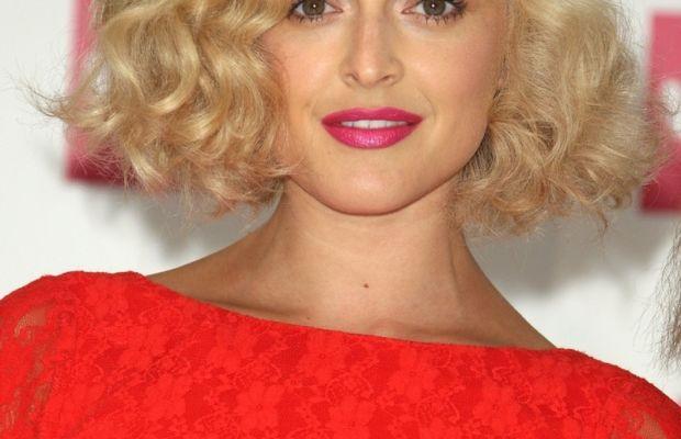 Fearne Cotton medium curly hair