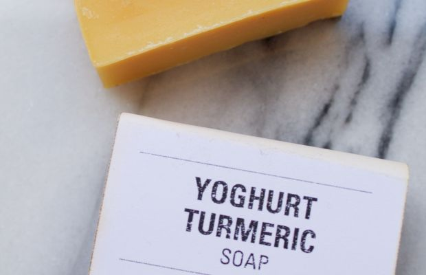 Leaves of Trees Yoghurt Turmeric Soap
