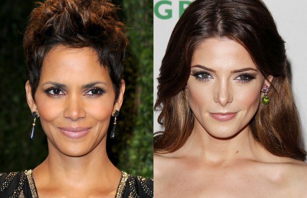 Diamond face shape celebrity examples