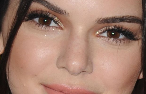 Kendall Jenner, Modern Muse Le Rouge perfume launch, 2015 (close-up)