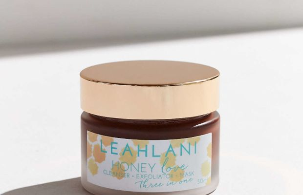 Leahlani Skincare Honey Love 3-In-1 Cleanser Exfoliator Mask