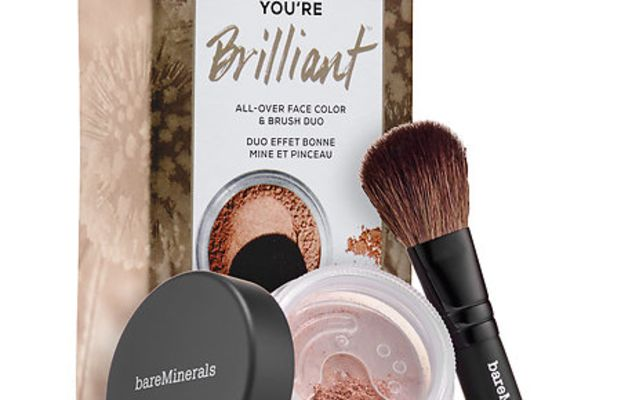 bareMinerals You're Brilliant All Over Face Color and Brush Duo