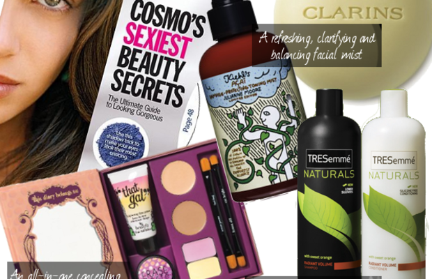 beauty-editors-picks-tresemme-clarins-cosmo-kiehls-benefit