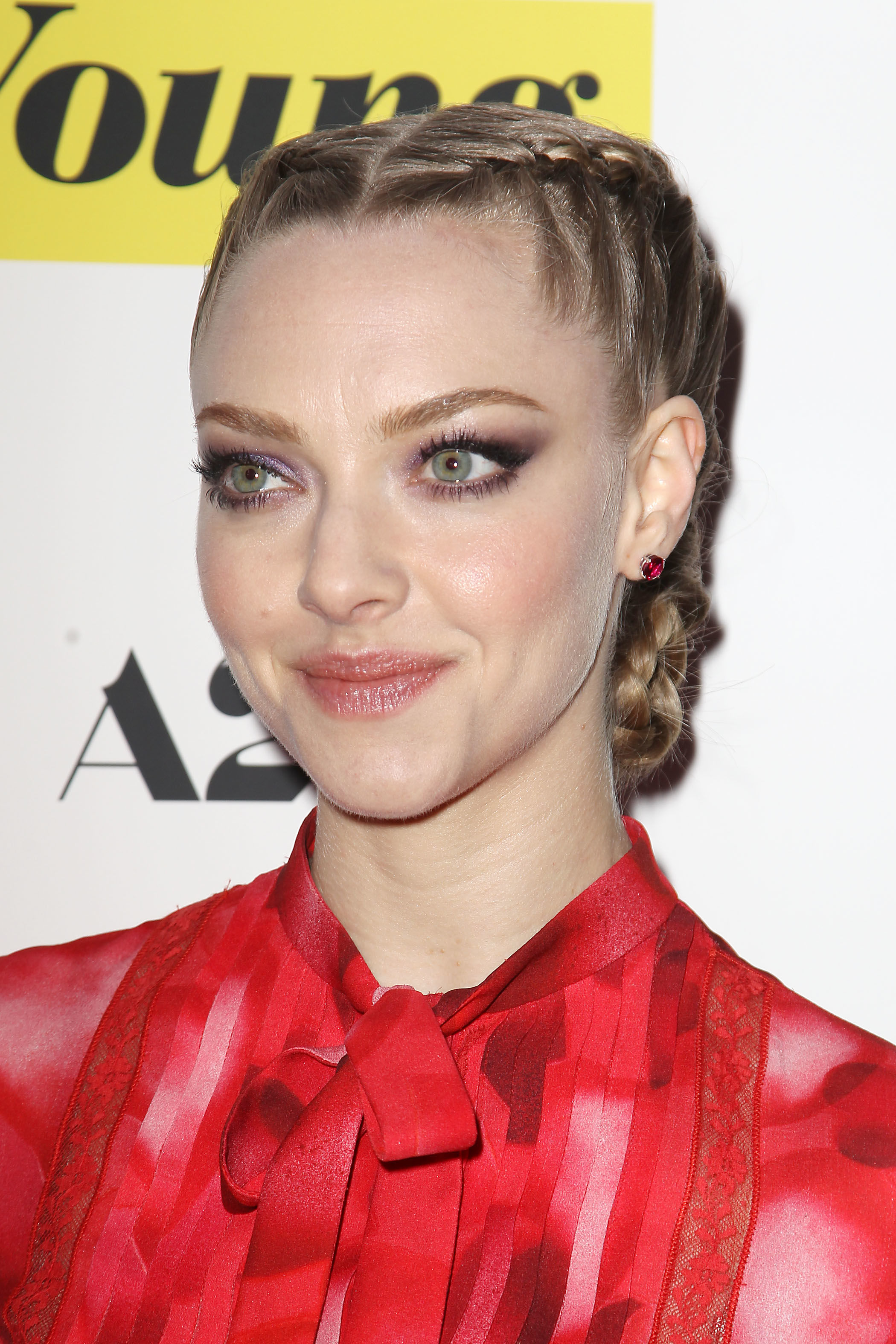 Amanda Seyfried, While We're Young premiere, 2015