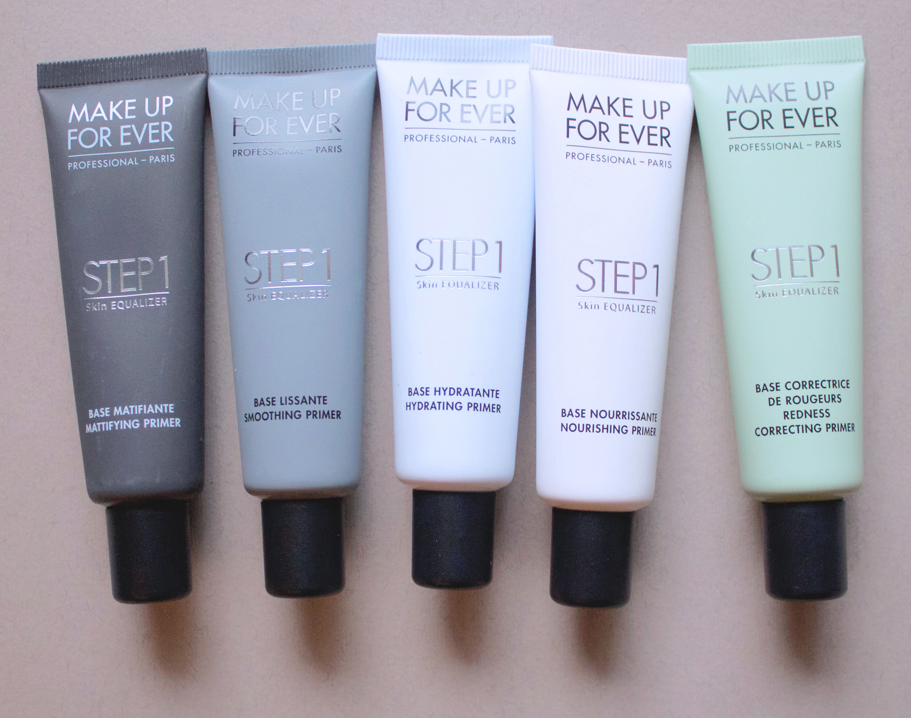 Make Up For Ever Step 1 Skin Equalizers (texture)