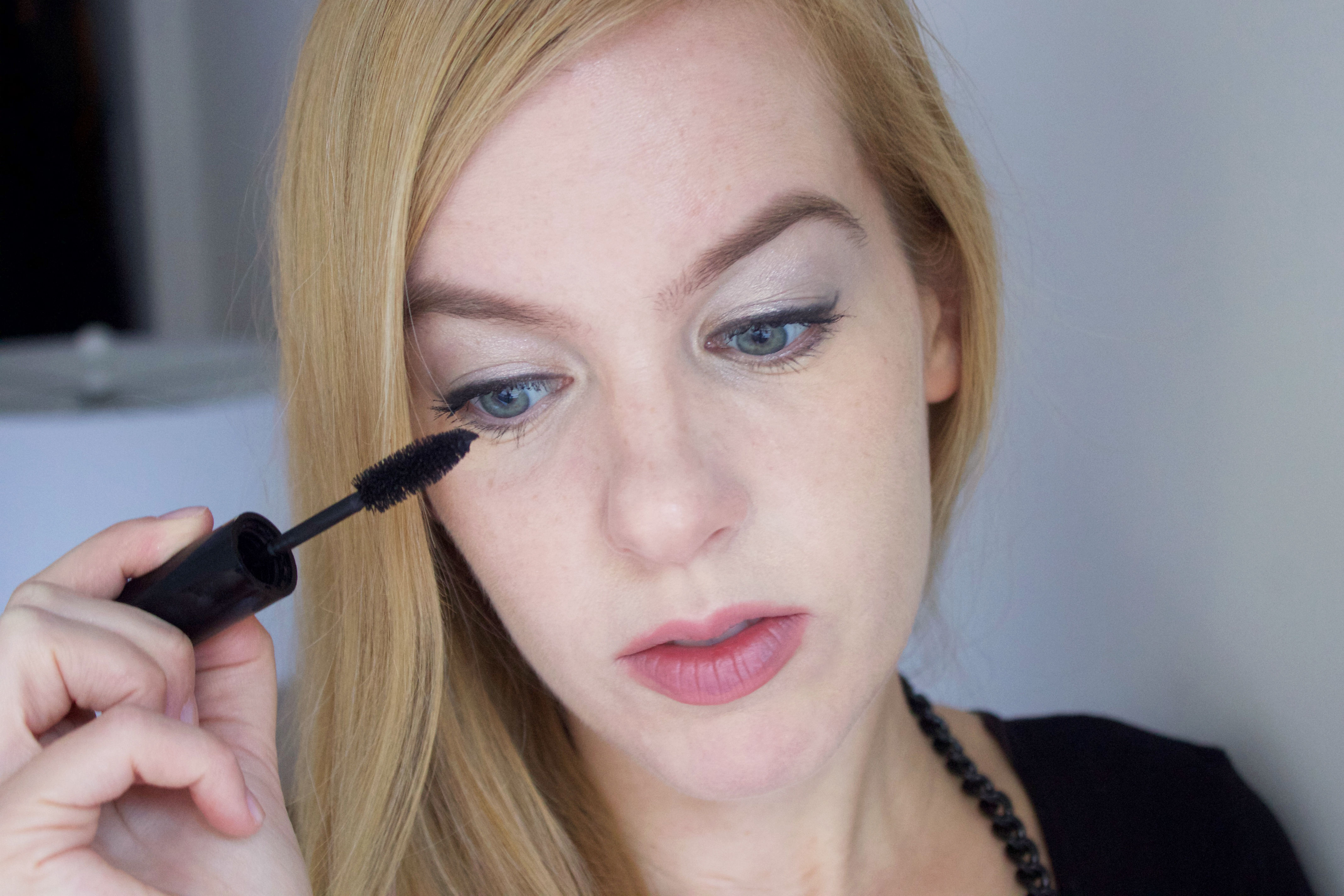 Easy holiday makeup tutorial (step 4)