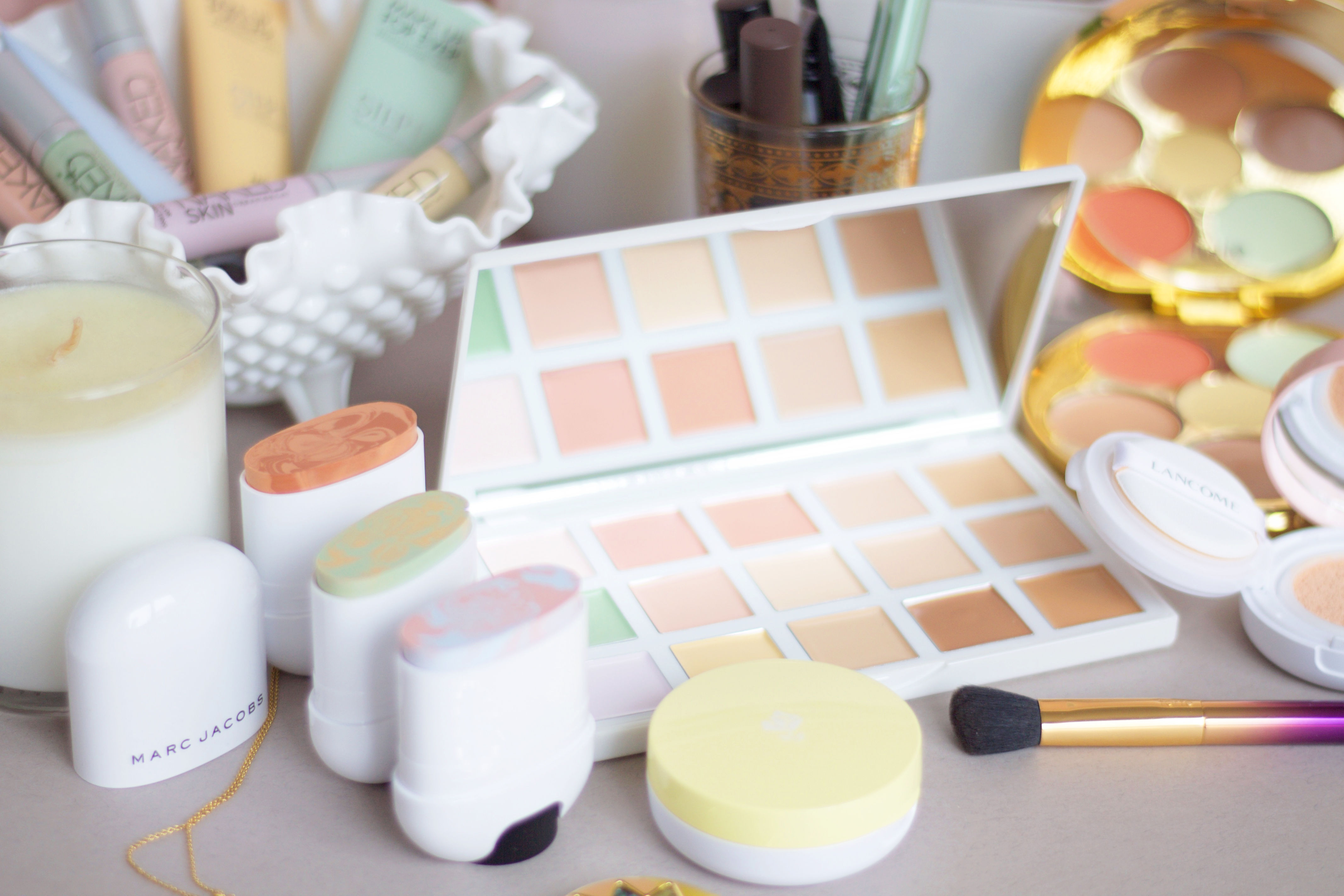 How to apply colour correction makeup
