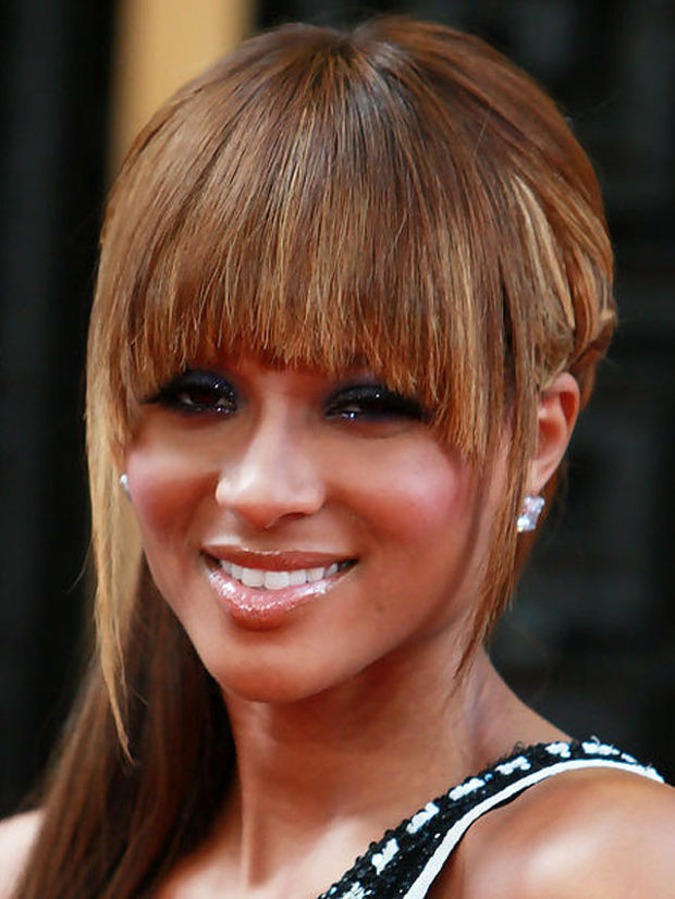 The Best (and Worst) Bangs for Diamond Faces - Beautyeditor
