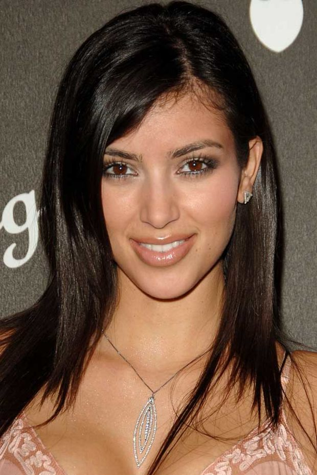 Kim Kardashian, Before and After  Beautyeditor