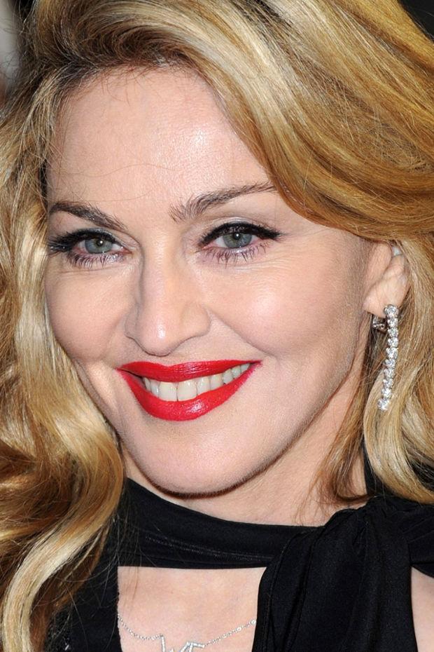 Madonna, W.E. premiere, London, 2012