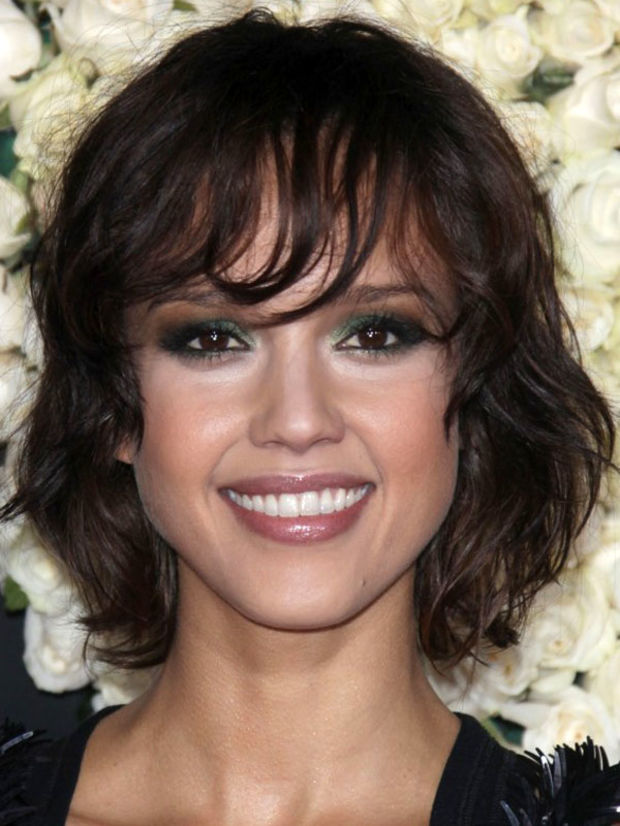 Phenomenal The Best And Worst Bangs For Oval Faces Beautyeditor Short Hairstyles For Black Women Fulllsitofus