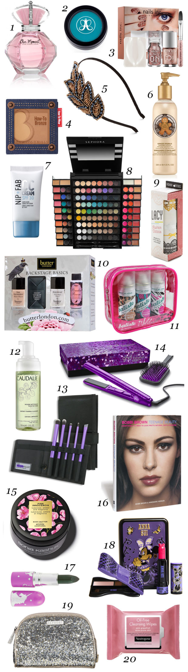 20 Beauty Gift Ideas For Teens And Tweens Beautyeditor