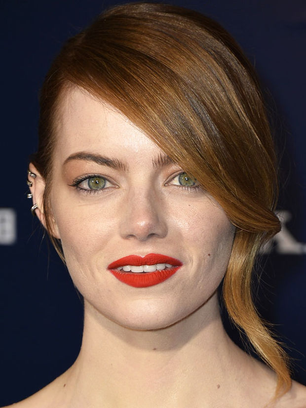 Emma Stone Hair and Makeup at Spider-Man Premiere ...