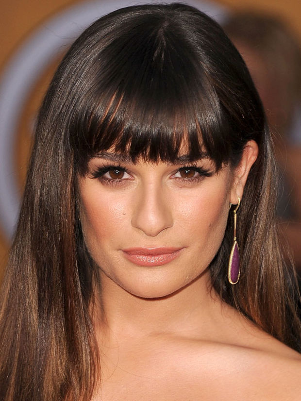 Terrific The Best And Worst Bangs For Square Face Shapes Beautyeditor Short Hairstyles Gunalazisus