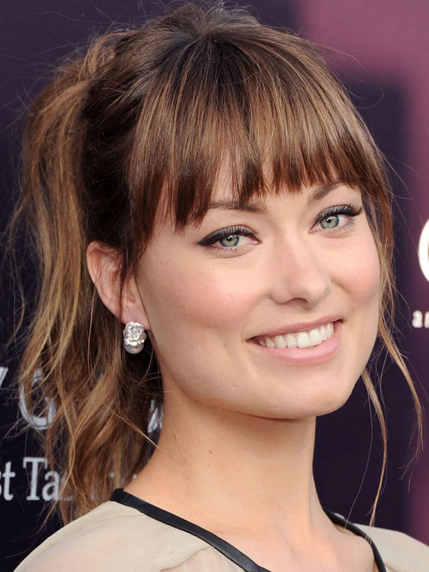 Amazing The Best And Worst Bangs For Square Face Shapes Beautyeditor Short Hairstyles Gunalazisus