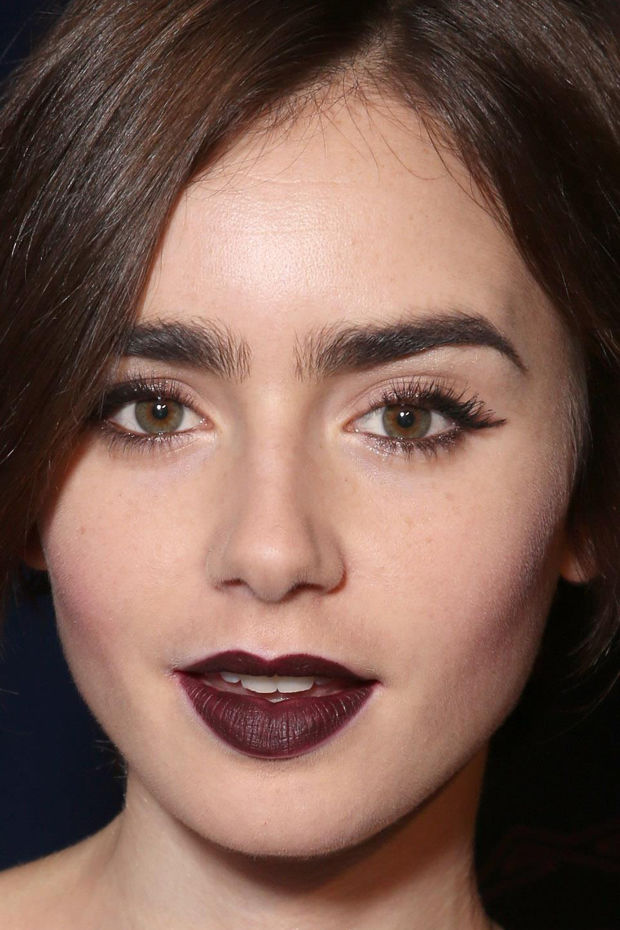 Lily Collins, CAA Young Hollywood Party, 2015 (close-up)