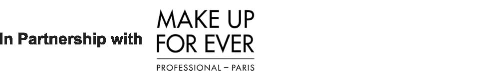 In partnership with Make Up For Ever
