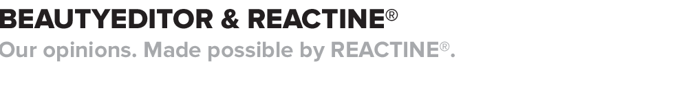 Beautyeditor and Reactine