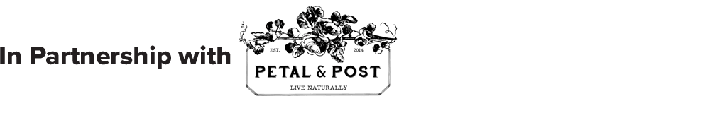In Partnership with Petal and Post
