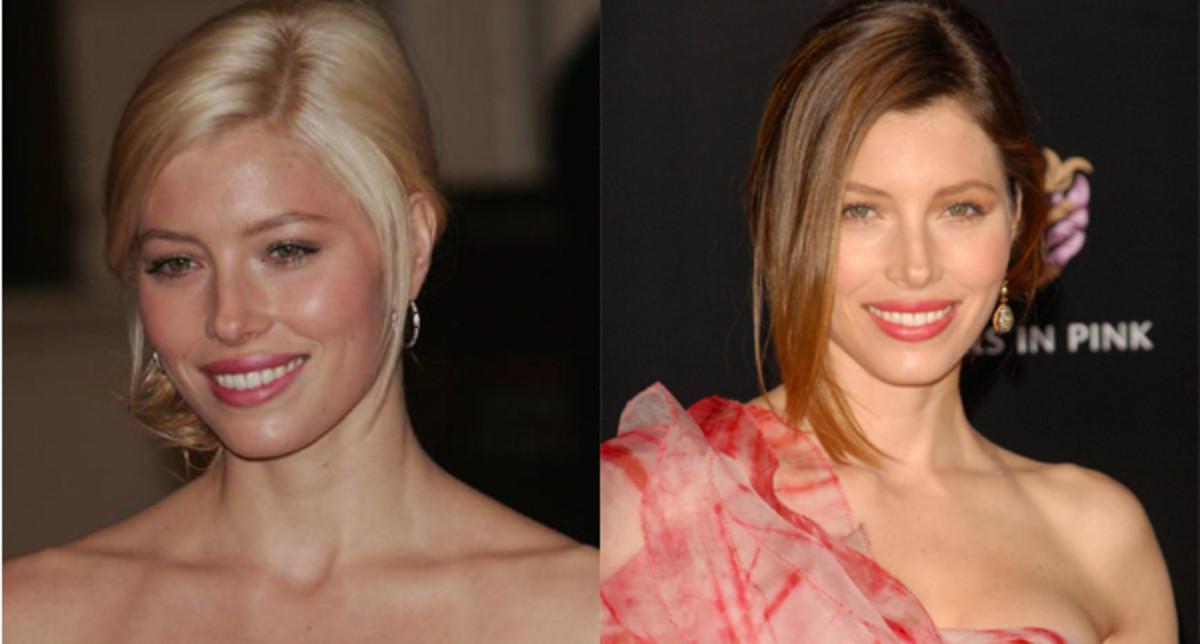 Jessica-Biel-blonde-and-brunette-hair