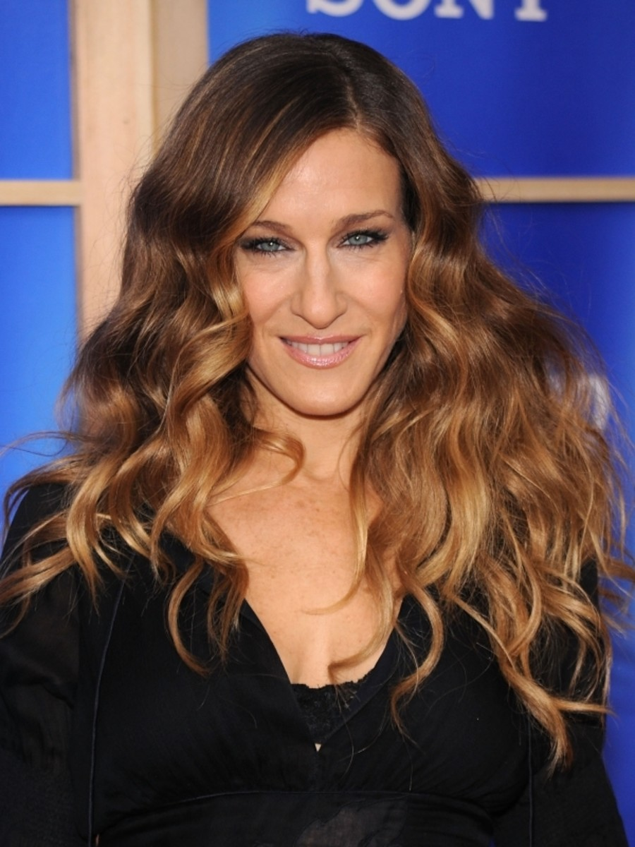 I just got ombr hair and im not sure how i feel about it sarah jessica parker ombre hair solutioingenieria Gallery
