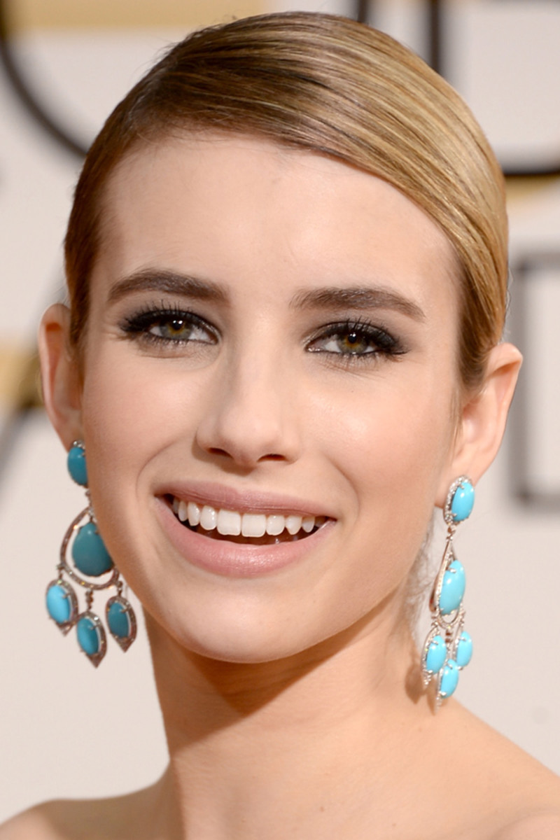 Emma Roberts, Golden Globes Awards, 2014