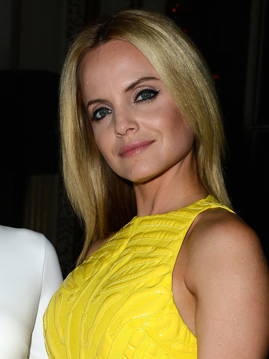 Mena Suvari - Versace Fall 2013 Couture Show, July 2013