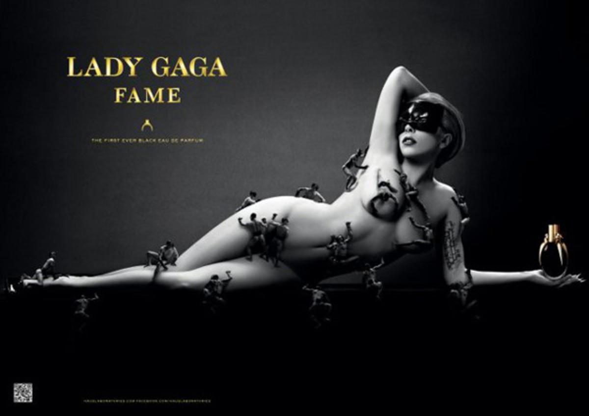 Lady Gaga Fame ad