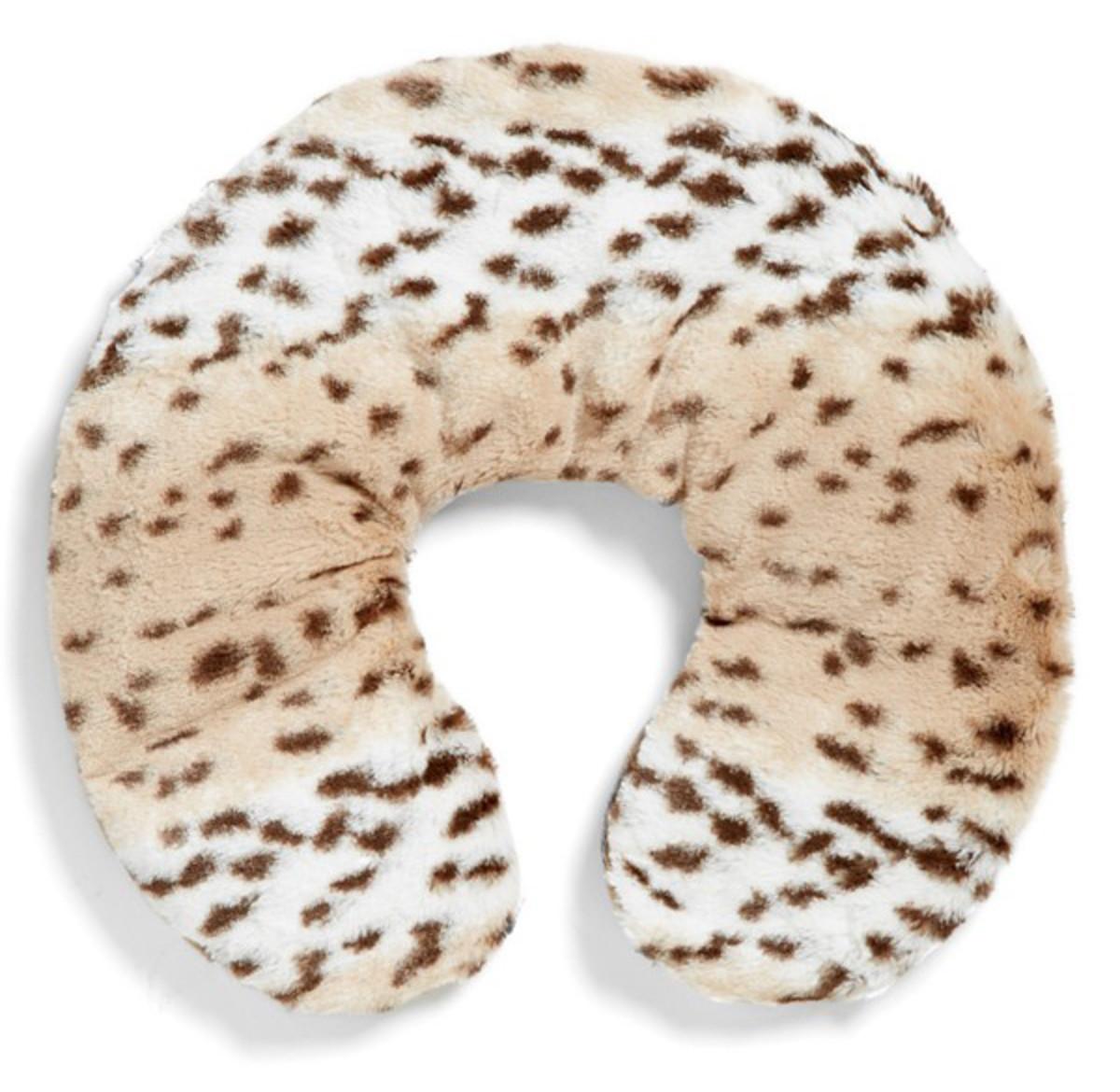 Sonoma Lavender Snow Leopard Neck Pillow