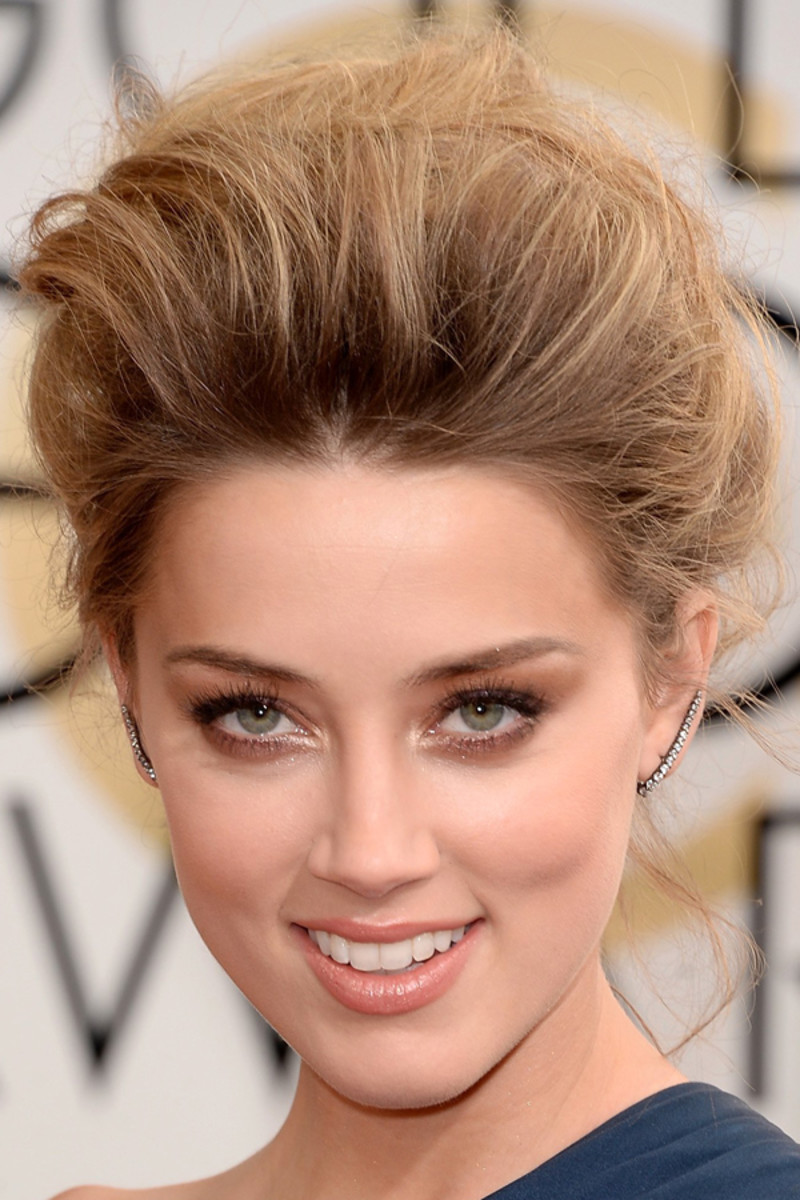Amber Heard, Golden Globes Awards, 2014