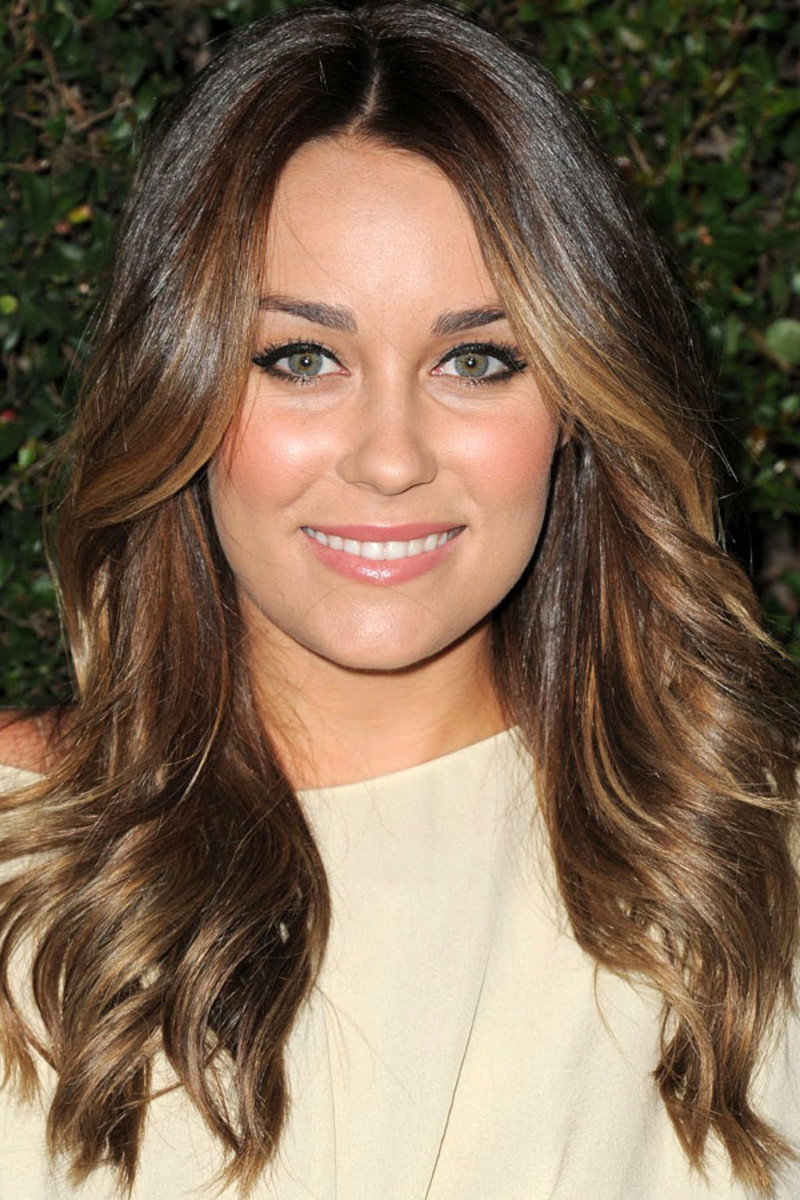 How to add highlights to light brown hair at home beautyeditor lauren conrad light brown hair covergirl 50th anniversary party 2011 pmusecretfo Gallery