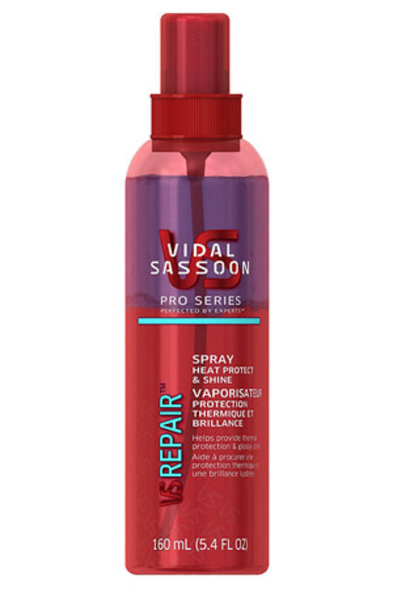 Vidal Sassoon Pro Series Heat Protect & Shine Spray