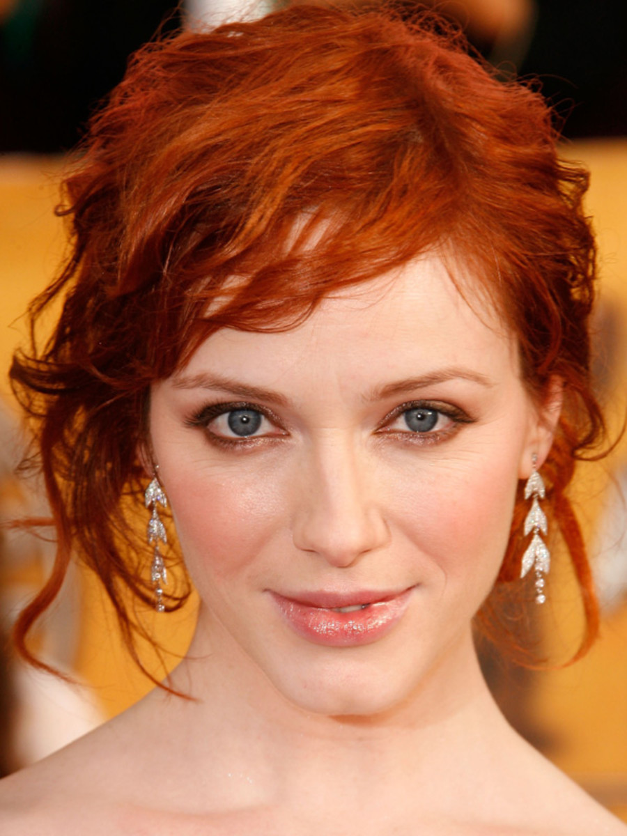 Christina Hendricks, SAG Awards, 2008