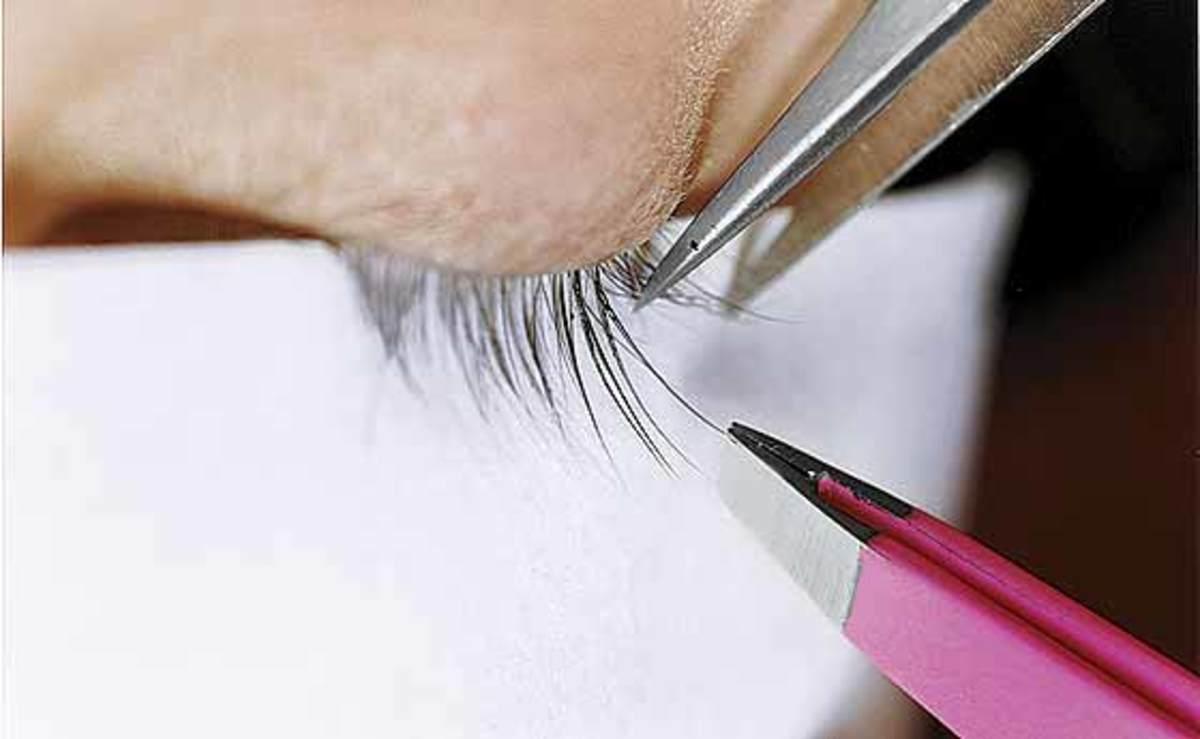lash extension application