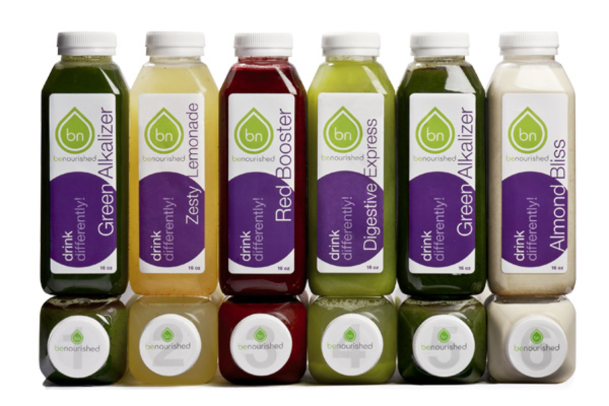 Benourished-juices