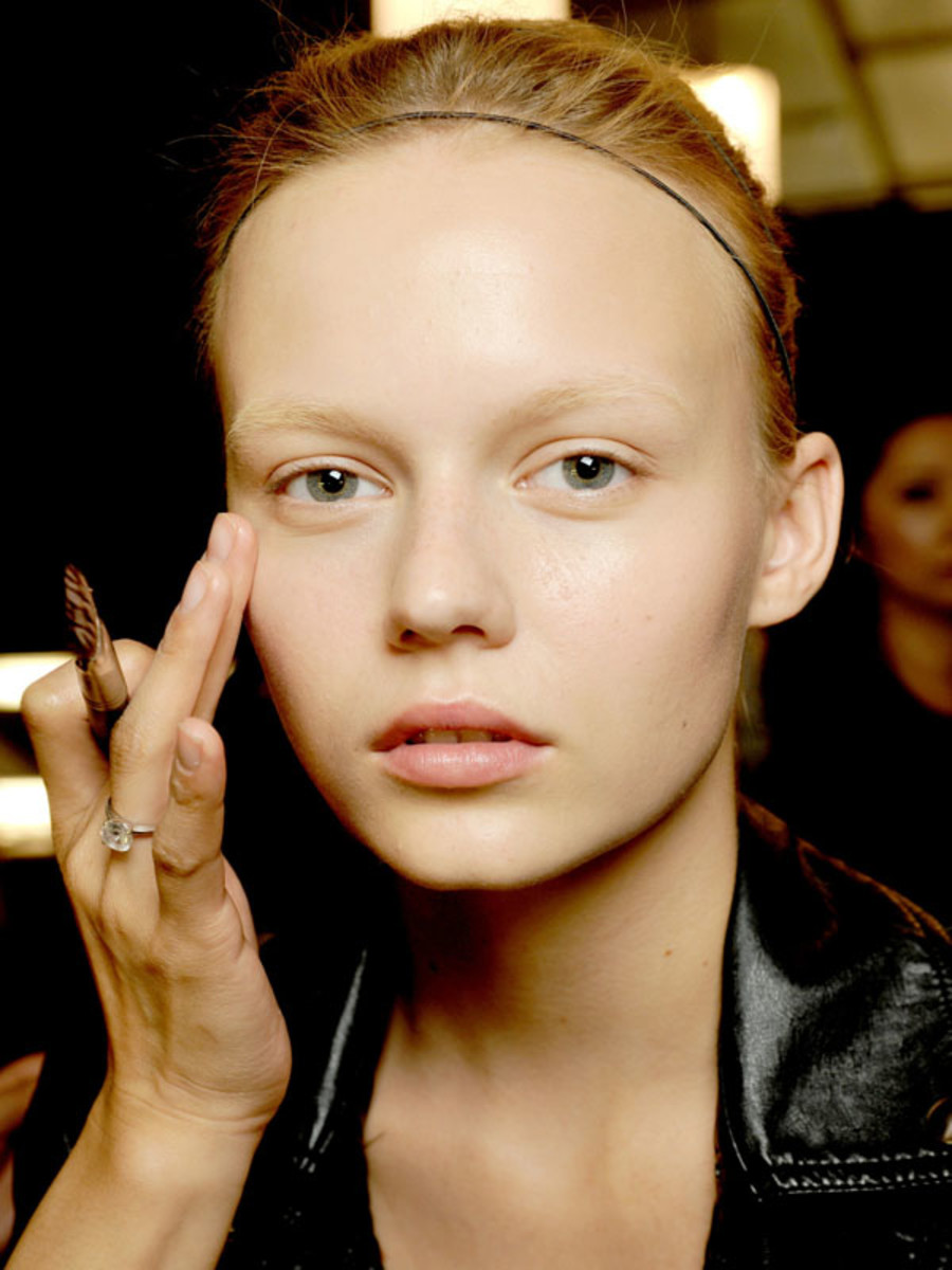 Foundation mistakes - Herve Leger by Max Azria Spring 2011