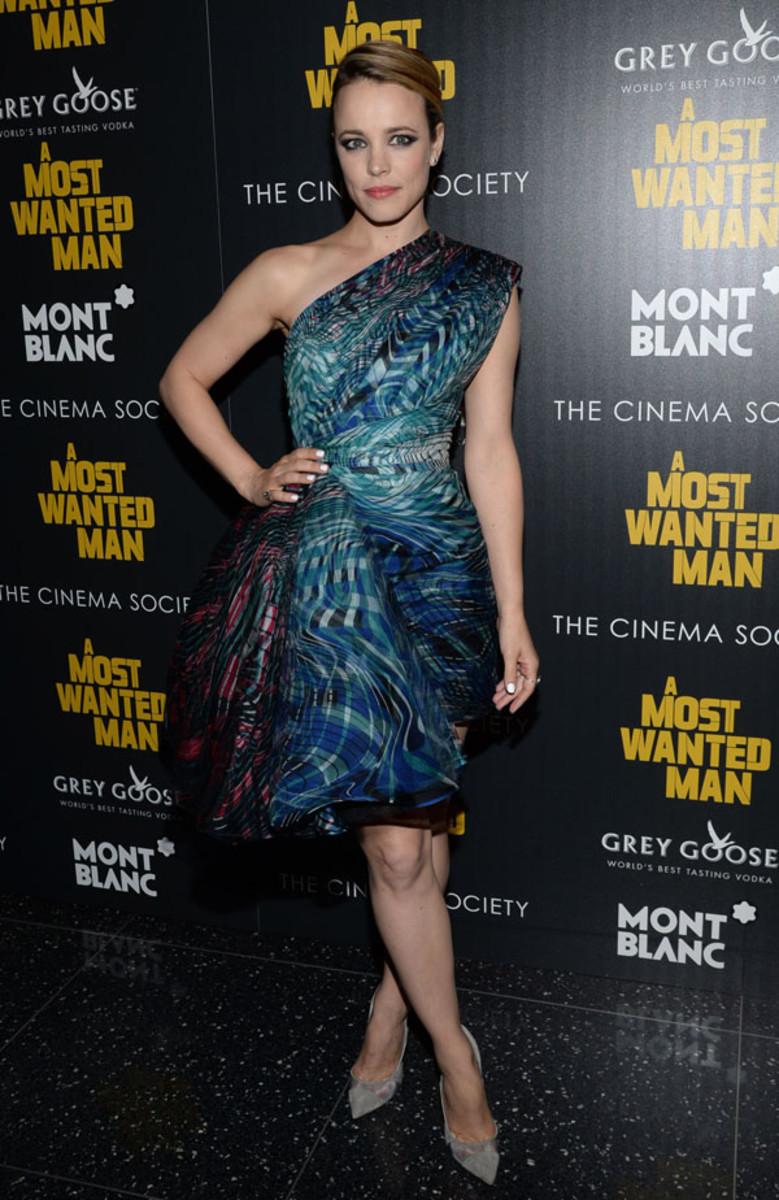 Rachel McAdams makeup, A Most Wanted Man premiere, 2014 (2)