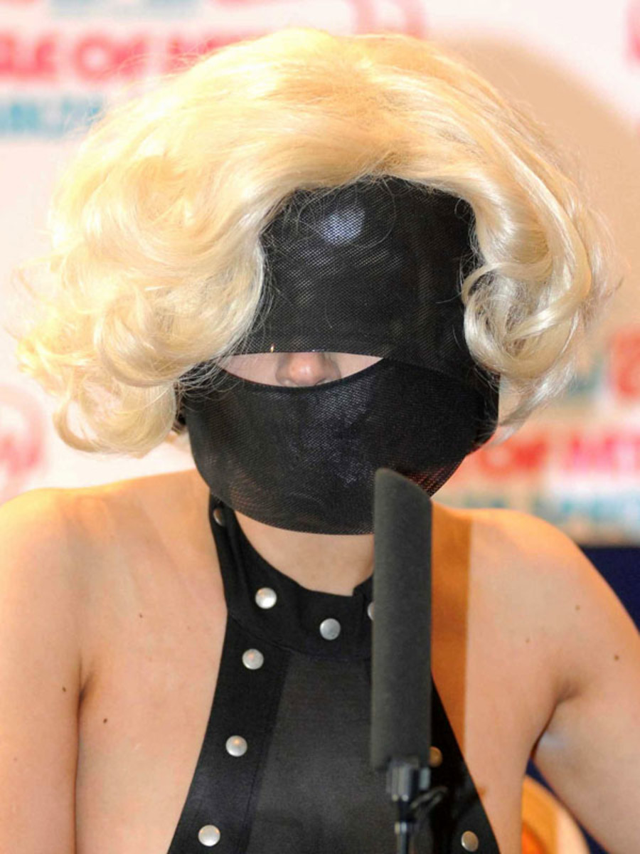 Lady Gaga, Isle of MTV Malta Special press conference, 2009