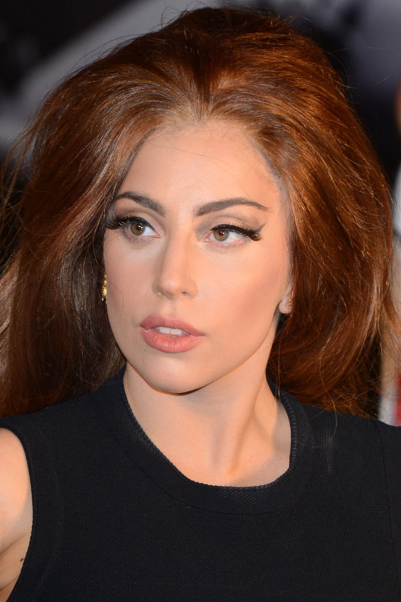 Lady Gaga, Before and After - Beautyeditor Lady Gaga