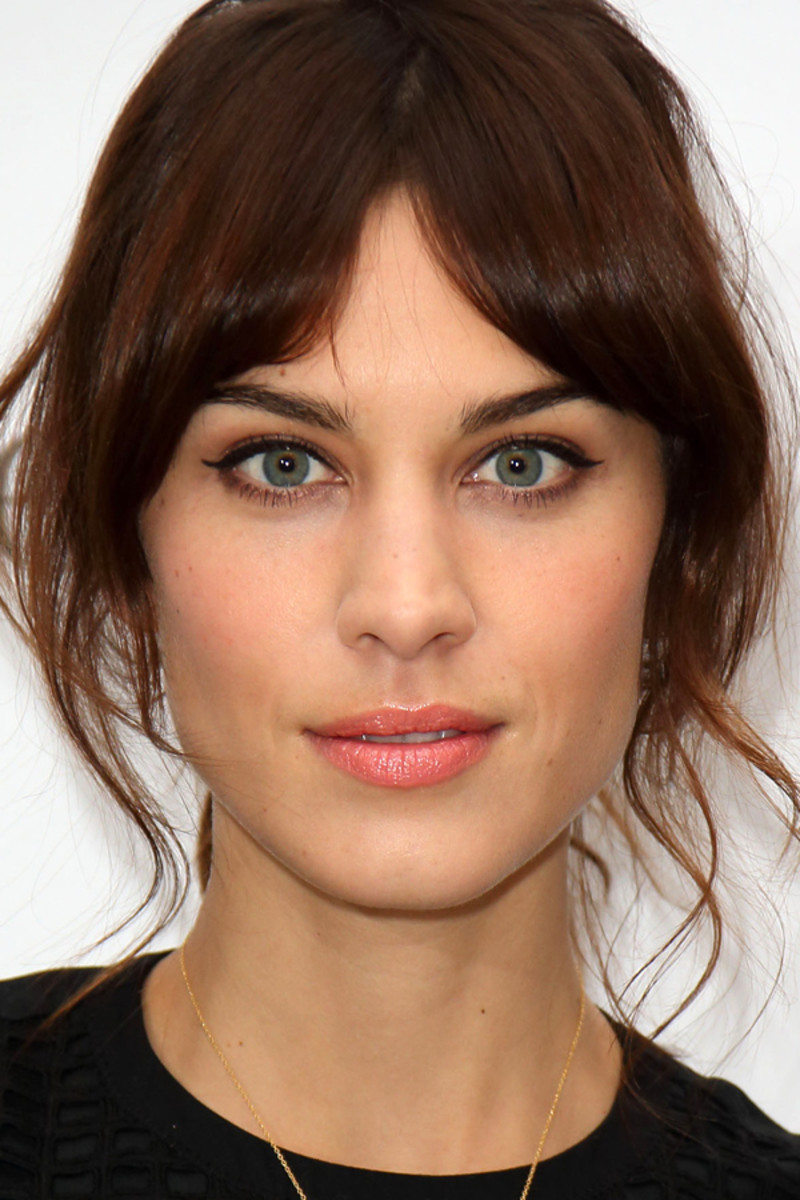 Alexa Chung for Eyeko event, 2013